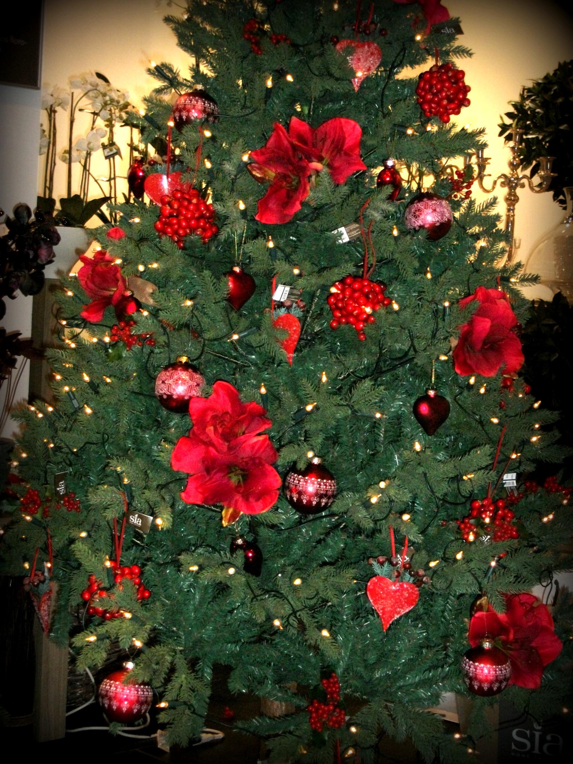 Como decorar el arbol de navidad compartimos un brunch - Como adornar arbol de navidad ...