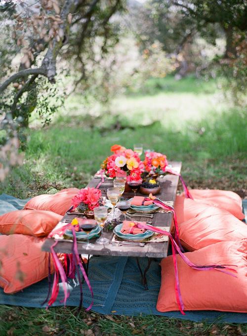 hacer un picnic